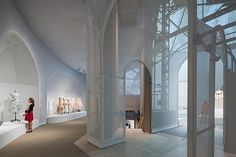Shohei Shigematsu presents OMA's Exhibition Design for Manus x Machina | See more articles at http://www.delightfull.eu/en/news/