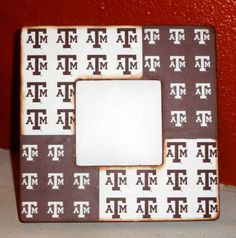 Texas A&M Wood Picture Frame