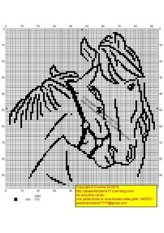 - My little crosses and me! – My little crosses and me! – My little crosses a Cross Stitch Horse, Cross Stitch Animals, Cross Stitch Charts, Cross Stitch Designs, Counted Cross Stitch Patterns, Blackwork Embroidery, Cross Stitch Embroidery, Crochet Horse, Cowboy Crochet