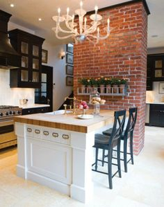 Creative cute exposed brick kitchen ideas Interior Designs 77 Creative Cute Exposed Brick Kitchen Ideas Kim St Residence By Rafterhouse Hmmfaux Brick Wall New Kitchen, Kitchen Dining, Kitchen Ideas, Kitchen Brick, Kitchen Rustic, Exposed Brick Kitchen, Kitchen Cabinets, Best Kitchen Layout, Rustic Kitchens