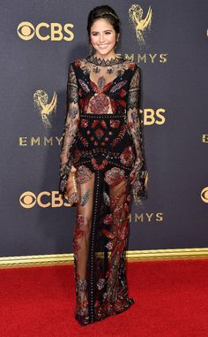 Erin Lim from 2017 Emmys Red Carpet Arrivals
