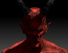 """Check out new work on my @Behance portfolio: """"Project Demon"""" http://be.net/gallery/47168701/Project-Demon"""