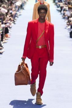 Louis Vuitton Spring 2019 Menswear Fashion Show Collection: See the complete Louis Vuitton Spring 2019 Menswear collection. Look 36