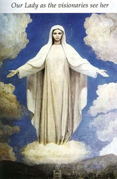 Queen of Peace painted by Miriana.