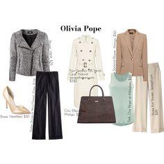"""Olivia Pope's Wardrobe"" - Love this!"