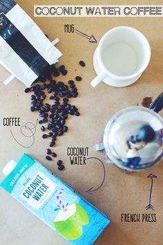 Coconut Water Coffee ||| Brewing Happiness