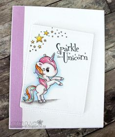Illustrations And Posters, Unicorn Cards, Lily, Sparkle, Stamp, Instagram, Stamps, Lilies, Illustrations Posters