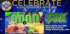 Wheel of Fortune Sweepstakes 6k Giveaway - Sweeps Maniac