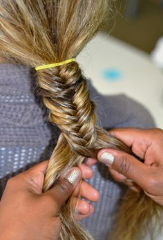 Maintain evenness, How to Master the Fishtail Braid