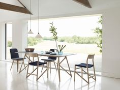 Fawn Dining table & chairs at Heal's  #HealsAW15