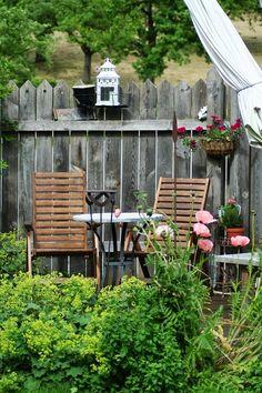 Gartenbuddelei: Sichtschutz