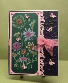 My Green Black Magic card