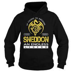 SNEDDON An Endless Legend (Dragon) - Last Name, Surname T-Shirt