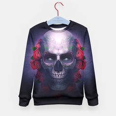 Mexican Skull Kid's Sweater, Live Heroes