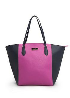 MANGO - Complementos - BOLSOS - Bolso shopper bicolor