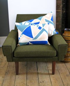 Tamasyn Gambell X Førest London Collaboration Spring 2015 Mid Century Furniture, Spring 2015, Collaboration, Scandinavian, Cushions, Throw Pillows, Interiors, London, The Originals