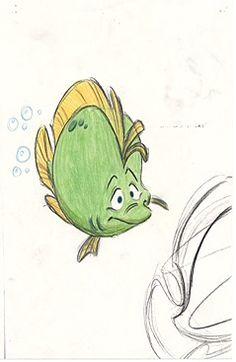 Flounder Concept Art