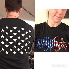 LOVE my new #50Strong shirt from @jekyllhyde_apparel!! #RedWhiteAndBlue #TheseColorsDontRun #USAstrong