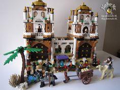 lego prince of persia - Recherche Google Cool Lego, Awesome Lego, Lego Prince Of Persia, Lego Age, Lego Indiana Jones, Lego Castle, Lego Models, Arabian Nights, Lego Building