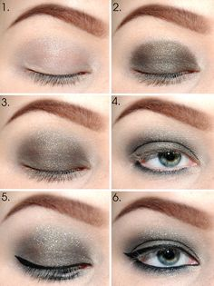 Great reference pic for when I'm doing my makeup in the morning ;)
