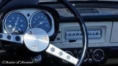 Renault Caravelle 1100S / Photo by P.G.Perron