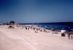 Beach at Wheelus AFB, Libya.   THE LIBYAN Esther Kofod www.estherkofod.com
