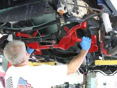 Drop weight and save space with a BMR K-member. Check out the install on our third-gen Camaro! http://www.hotrod.com/how-to/chassis-suspension/1601-bmr-k-member-install-on-a-third-gen-camaro?utm_source=rss&utm_medium=synergetic&utm_campaign=RSS
