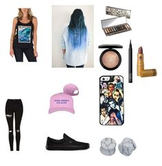 """""""("""" by hamilton-trash on Polyvore featuring Vans, Topshop, Samsung, D&M, MAC Cosmetics, NARS Cosmetics, Lipstick Queen and Urban Decay"""