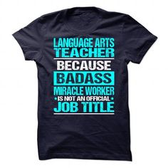 Awesome Tee For Language Arts Teacher T-Shirts, Hoodies (21.99$ ==► Shopping Now!)