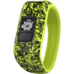 Garmin - vivofit jr. Activity Tracker For Kids - Digi Camo, 010-01634-01