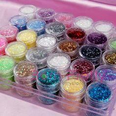 I find an excellent product on @BornPrettyStore, 30 color glitter DECORATION powder nail art /... at USD $24.46. http://www.bornprettystore.com/-p-109.html