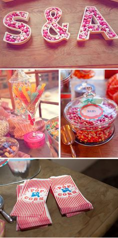 Great website showing imaginative carnival themed wedding-great ideas!