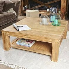 Retro Tv Stand, Center Table Living Room, Dining Table Design, Raw Wood, Living Room Furniture, Shabby Chic, Home Decor, Interior, Coffee Tables