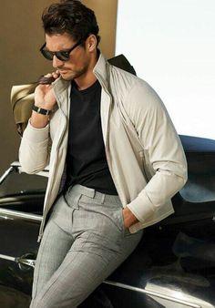 Men's casual style | David Gandy