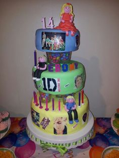 One Direction Ross Lynch Cake