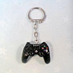 Playstation 3 Console Keychain.