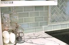 Seafoam green tile-gorgeous!