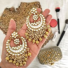 Golden magic for the golden girl in you #IndianJewelry