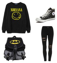 """""""Emo Dream"""" by twistedsister-i on Polyvore featuring Chicnova Fashion, Converse, women's clothing, women's fashion, women, female, woman, misses and juniors"""
