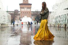 Milan Fashion Week Fall 2016 Street Style Looks (37)