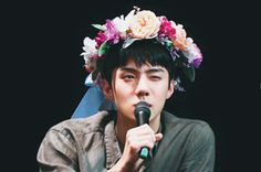 baby flower prince oh sehun