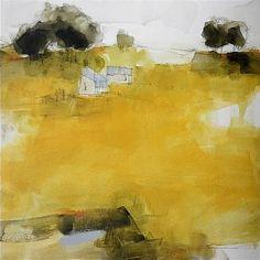 Artist roger lane Title Yello Year 2012 Medium Acrylic Support Canvas Height 50cm Width 50cm