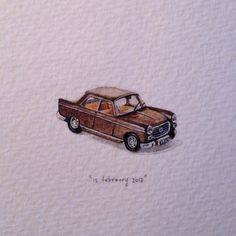 Day 46 : Dear @leanievdv, whenever I think of you, I will always remember the brown '69 Peugeot 404, and that day we broke down next to the highway. Happy birthday.