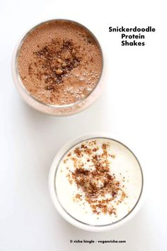 Snickerdoodle Protein Shakes | Vegan Richa