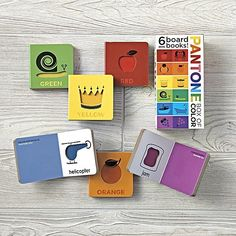 Pantone: Box of Color, child education, toddler learning colors, #affiliate