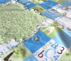 The 30-Minute Baby Quilt is a perfect last minute baby shower gift.