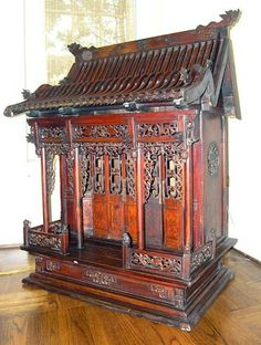 Chinese Ancestor Altar | Our Daoist shrine in the San Antonio Museum of Art