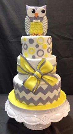 Un chouette gâteau