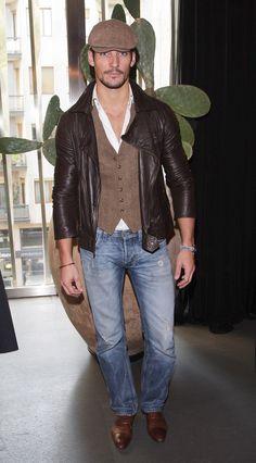British male model David Gandy