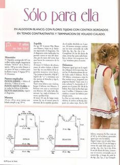 10 Patrones para tu bebé o bebita | Tejedoras.es Baby Knitting Patterns, Toddler Dress Patterns, Girl Dress Patterns, Summer Knitting, Knitting For Kids, Easy Knitting, Crochet For Kids, Crochet Baby, Knit Baby Dress